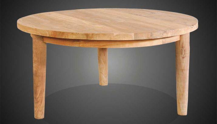 Tischplatte rund 120  MET Bodena,rund · KRINES Rattan Teak Fichte Outdoor Lounge ...