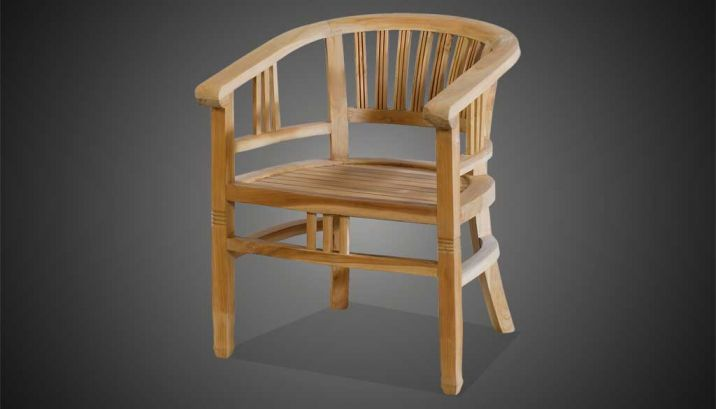 Teak Stühle Balero Krines Rattan Teak Fichte Outdoor Lounge
