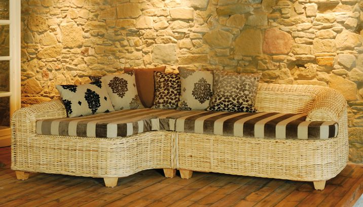 pianosofa s 115 krines rattan teak fichte outdoor lounge lifestyle m bel einrichtung. Black Bedroom Furniture Sets. Home Design Ideas