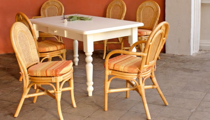 Rattan Krines Rattan Teak Fichte Outdoor Lounge Lifestyle Mobel